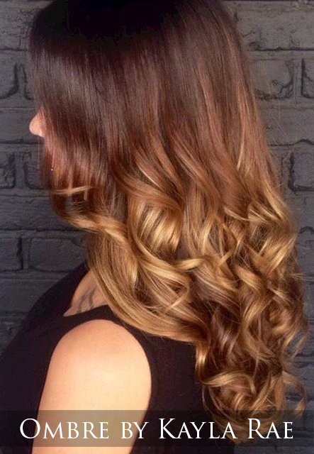 Which is exactly what your stylist does by freehand painting on to your hair. This hair painting technique can be done on short or long hair to create an